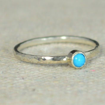 Classic Sterling Silver Turquoise Ring