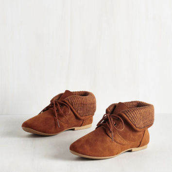 Boho Skit to Be Tied Bootie in Caramel