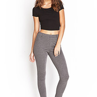 FOREVER 21 Stretch-Knit Pants