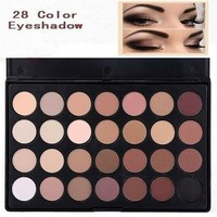 High quality Pro Makeup 28 Color Nude Eye Shadow Palette in box HOT [8096934599]