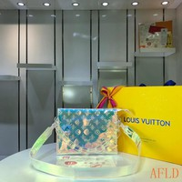 HCXX 19Aug 579 Louis Vuitton LV M67692 Shoulder Strap Print Soft Clutch Bag Colorful Tote 25-20-5CM