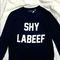 SWEET LORD O'MIGHTY! SHY LABEEF SWEATER