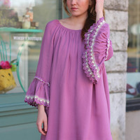 Spring Showers Dress {Orchid}
