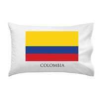 Colombia - World Country National Flags - Pillow Case Single Pillowcase