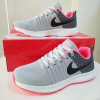 """Nike"" Women Sport Casual Multicolor Fly Weave Sneakers Running Shoes"