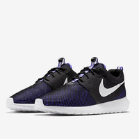 """NIKE"" Trending Fashion Casual Black And Purple Sports Shoes"