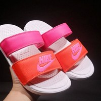 New NIKE BENASSI Duo Ultra cheap Men's and women's nike Slippers Beach shoes-1686248855