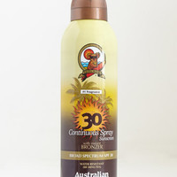 Australian Gold Continuous Spray Sunscreen with Bronzer - SPF 30