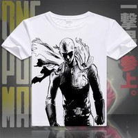 One Punch Man Short Sleeve Anime T-Shirt V2