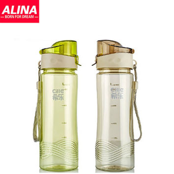 Summer sports bottle large capacity portable graduated convenient portable water cup sports cup plastic cups
