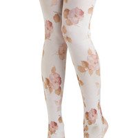 Pastel Pedals Tights | Mod Retro Vintage Tights | ModCloth.com