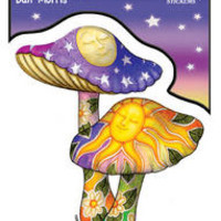 Psychedelic Mushrooms Sticker
