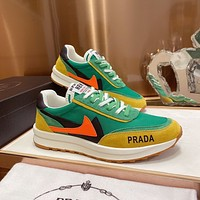 prada men fashion boots fashionable casual leather breathable sneakers running shoes 198