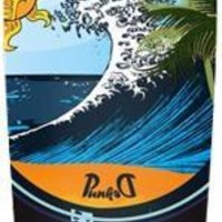 Punked Wave Kicktail Longboard Complete 10x40