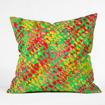 Rebecca Allen When Spring Lands Throw Pillow
