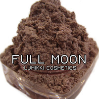 FULL MOON 5 Gram Full Size Jar Shimmery Glitter Beige Nude Light Brown Mica Eyeshadow Eye Shadow Highlight Pigment Lumikki Cosmetics
