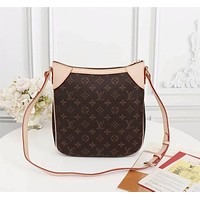 lv louis vuitton women leather shoulder bags satchel tote bag handbag shopping leather tote crossbody 145
