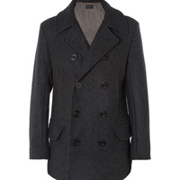 J.Crew - Quilted Wool Peacoat | MR PORTER