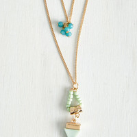 Boho Beadworks Like a Charm Necklace by ModCloth