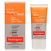 Rapid Clear Acne Defense Face Lotion | Neutrogena®