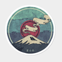 Fuji Sticker By Againstbound Design By Humans
