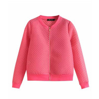 Bee Hive Knitted Zip Jacket