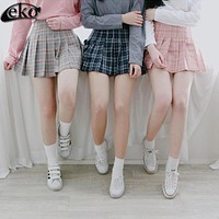 Plaid Skirts Shorts Womens Summer Hot AA Women's Pleated Skirt short Uniforms Girl's Skirt short For Women Students High Quality