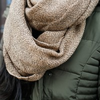 Forever Darling Infinity Scarf - Sand