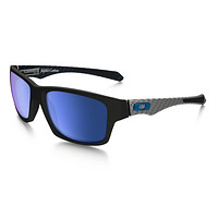 NEW OAKLEY - JUPITER CARBON - MATTE BLACK / ICE IRIDIUM POLARIZED, OO9220-04