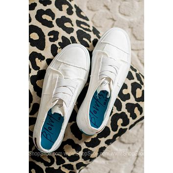 Marley Canvas Sneakers | Washed White