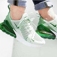 Green Nike Air Max 270 Running Sports Shoes Sneakers