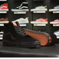 VANS Trending Casual Sports Sneakers Shoes high-tops black