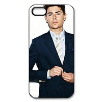 Zac Efron Hard Case Skin for iPhone 5 Hard Plastic iPhone 5 Case