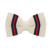 Fashion New Arrival Knitted Crochet Men`s Adjustable Beige Novelty For Men Party Bussiness