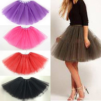 Hot Women/Adult Fancy Dancewear Tutu Pettiskirt Princess Shirt Skirts Mini Dress = 1946829956