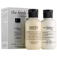 The Fresh Start Cleansing Duo - philosophy | Sephora