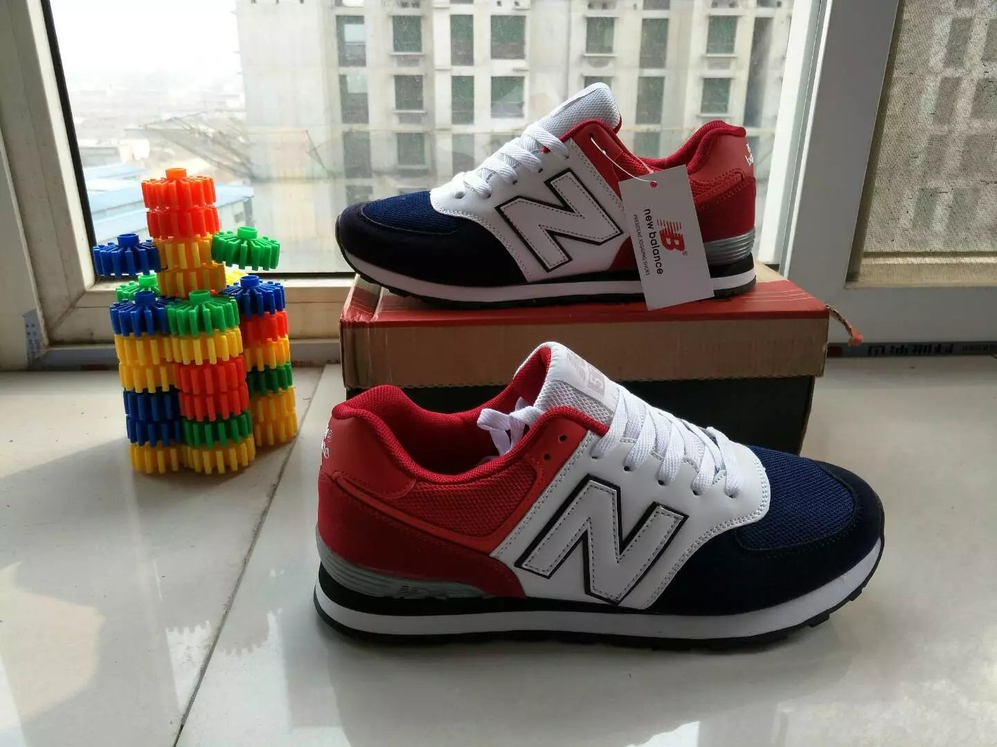 """Image of """"New Balance"""" Fashion Casual N Words Breathable Unisex Sneakers Couple Running shoes"""