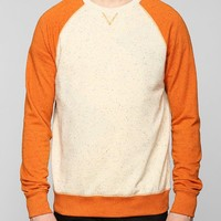 BDG Colorblock Speckle Pullover Sweatshirt - Urban Outfitters