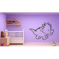 Wall Sticker For Kids Baby Dinosaur Cool Decor for Nursery Room Unique Gift z1399