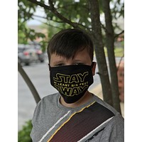 Stay Away Washable Face Mask - Protective Face Covering