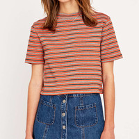 Urban Outfitters Turtle Stripe Crop Top - Urban Outfitters