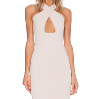 Nookie Marylin Convertible Shift Dress in Tan