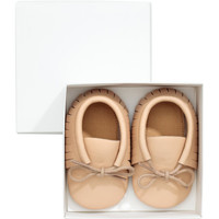 Leather Slippers - from H&M