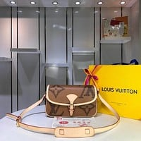 lv louis vuitton womens leather shoulder bag satchel tote bags crossbody 302