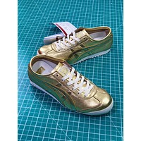 Asics Onitsuka Tiger Mexico66 Gold Casual Shoes Sneakers