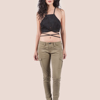 Cargo Ankle Pants