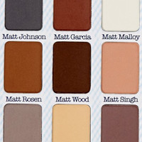 Meet Matte Nude Eyeshadow Cosmetic Makeup Color Powder Wet/dry Palette