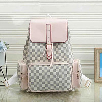 Louis Vuitton LV Hot Sale Large Capacity Backpacks Mountaineering Bags Traveling Bags Fashion Men's and Women's School Bags