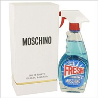 Moschino Fresh Couture by Moschino Eau De Toilette Spray 3.4 oz for Women