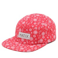 Matix Colors 5 Panel Hat - Mens Backpack - Red - One